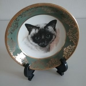 !Sale! Collectible Cat and Rooster Plates
